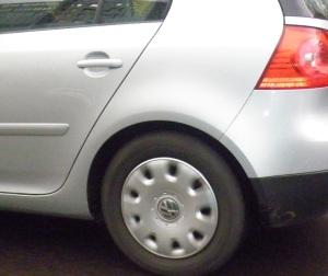 Rollender Reifen