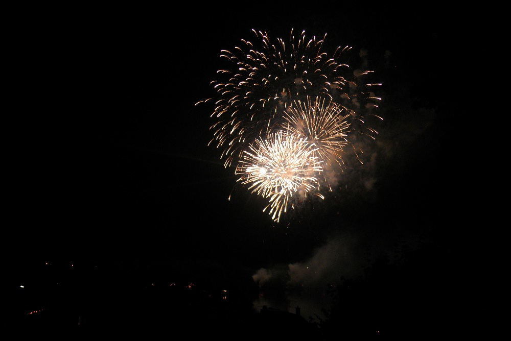 Feuerwerk Stadtfeste Oberschwaben