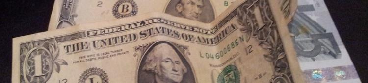 dollar und euro scheine