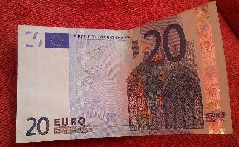 20 Euro Geldschein