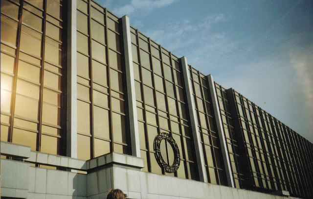 Palast der Republik Berlin 1992