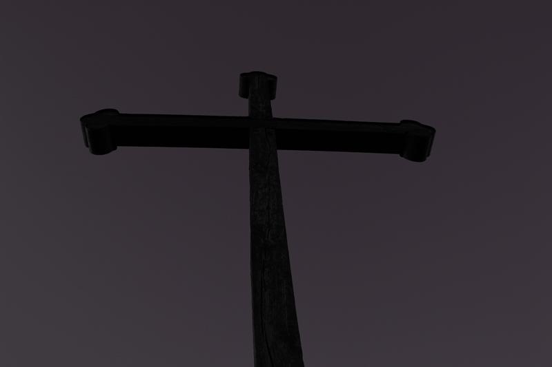 Holz-Kreuz