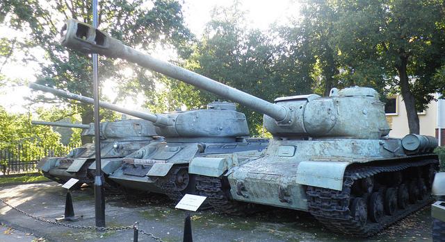 russische Panzer im museum