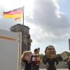 Demo Snowden vor Untersuchungsausschuss Bundestag