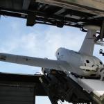 Drohne beim Abschuss