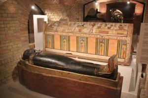 Aegyptischer Sarkophag