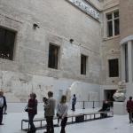 Aussenbereich Neues Museum Berlin