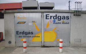Erdgas Depot