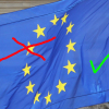 EU-Flagge ohne GB