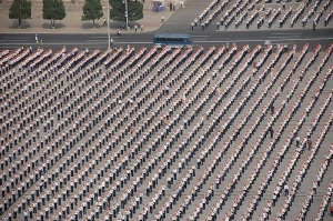Kim Il-sung Platz in Pyongyang Nordkorea