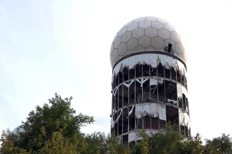 Ehemalige Abhoeranlage Berlin Teufelsberg