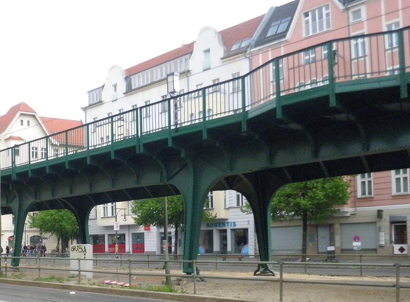 U 2 Bahntrasse Prenzlauer Berg