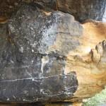 Felsvorsprung Affenfelsen