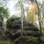 Mystische Felsen Elbsandsteingebirge