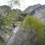 Steile Felsen Elbsandsteingebirge