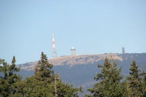 1-40 Sicht auf Brocken