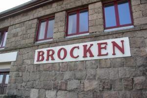 2-0 Brocken Bahnhofsschild
