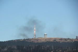 2-13 Rauch Dampfbahn vom Wurmberg aus