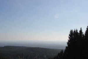 2-23 Sicht durch Schneise Wurmberg