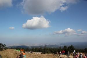 2-25 Blick vom Brocken nach Norden