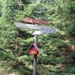 2-6 Wanderschild Brocken Aufstieg