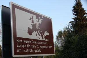 Ehemalige innerdeutsche Grenze Harz
