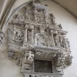 Epitath Magdeburger Dom