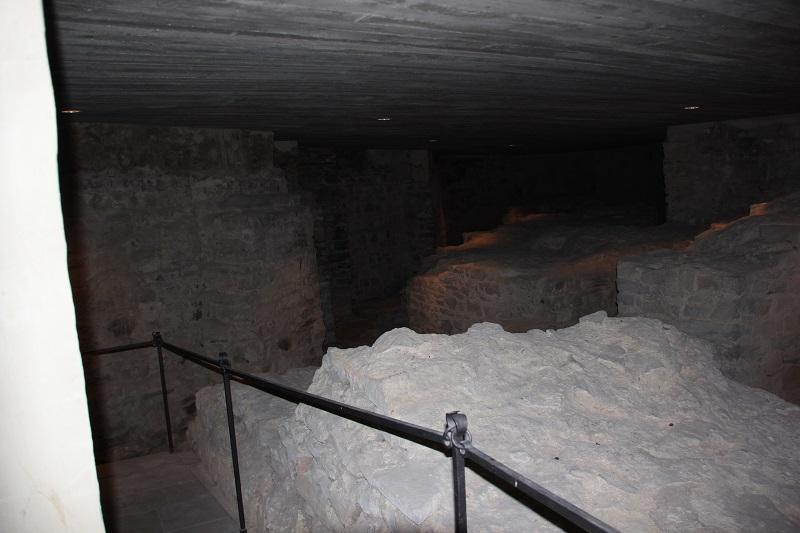 Romanischer Dom Ruine Magdeburg