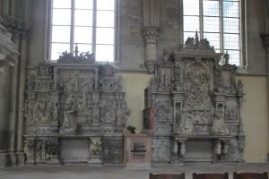 Verzierte Epitathe Magdeburger Dom