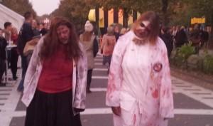 Zombies mit Hautproblemen