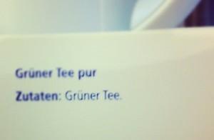 gruener tee inhaltsangabe