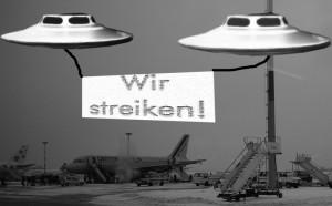 UFO Streik