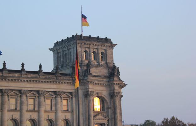 Bundestag Fahne