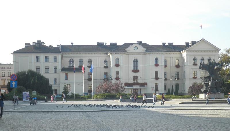 Rathaus Bydgosczc Polen
