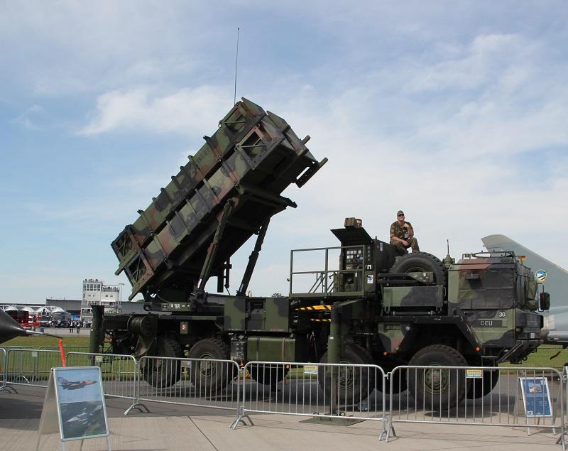 Patriot Luftabwehr Bundeswehr