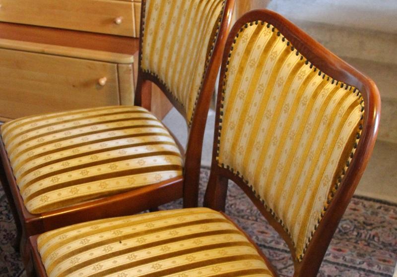 Billige dekoration von m beln mit polsterung eine welt - Stuhl mit nieten ...