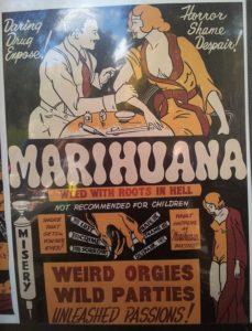 Anti Cannabis Plakat