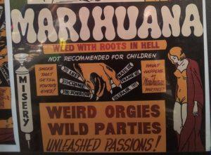 Anti Marihuana Plakat
