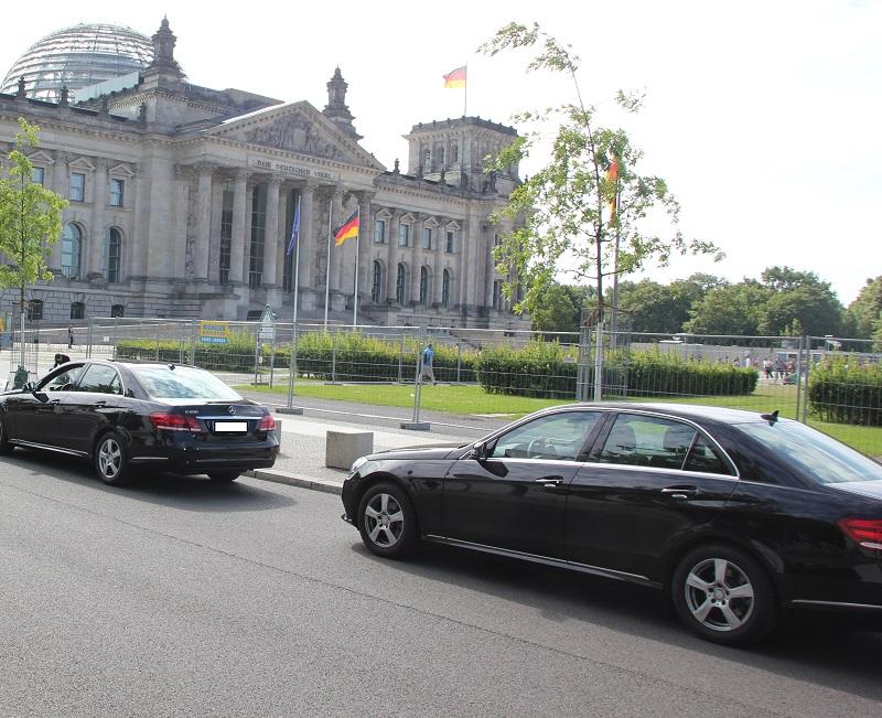 Mercedes E-Klasse Dienstlimosine