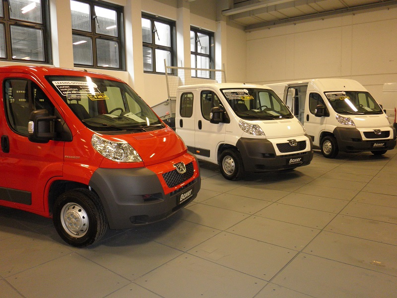 Fahrzeug Praesentaton Vans