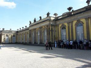 Eingang Schloss Sans Souci Potsdam