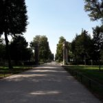 Weg im Park Sans Souci
