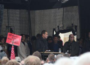 Buergermeister Mueller March of Science Berlin