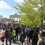 March of Science vor Brandenburger Tor