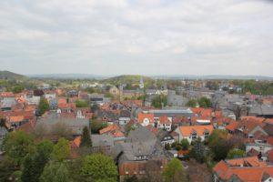 Blick auf Goslar Turmblick Goslar