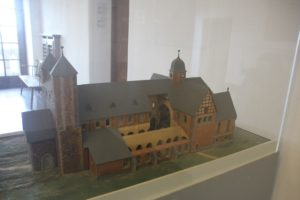 Liebfrauenkirche Modell Kaiserpfalz Goslar