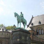 Reiterfigur Wilhelm Goslar Kaiserpfalz