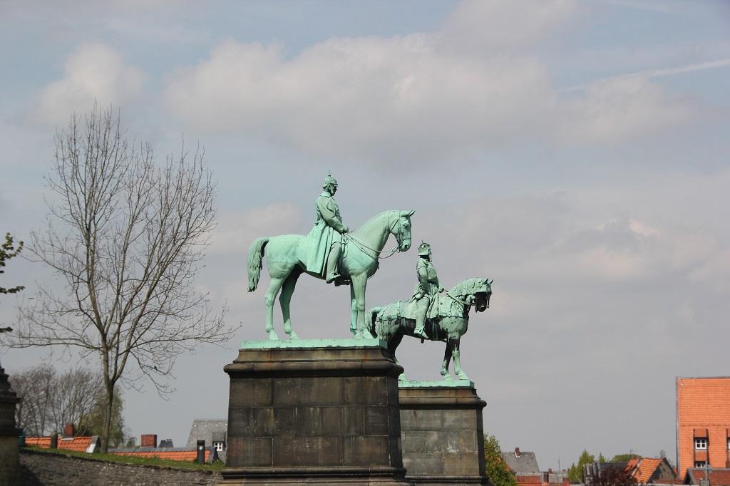 Reiterfiguren Kaiserpfalz Goslar