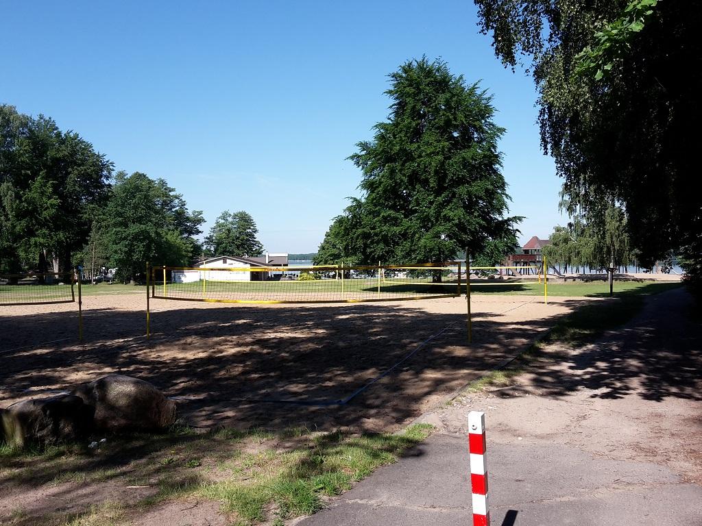 Strand und Volleyball EJB Werbellinsee