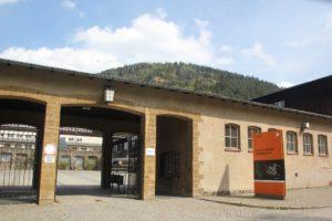 Eingang Bergwerk Rammelsberg